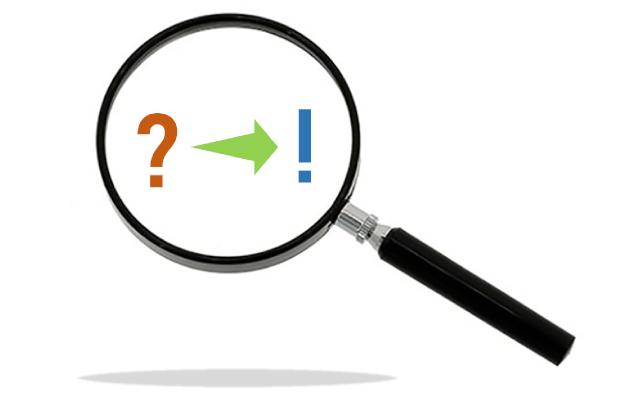 Gå från Frågetecken till utropstecken gällande hur ditt företag uppfattas.